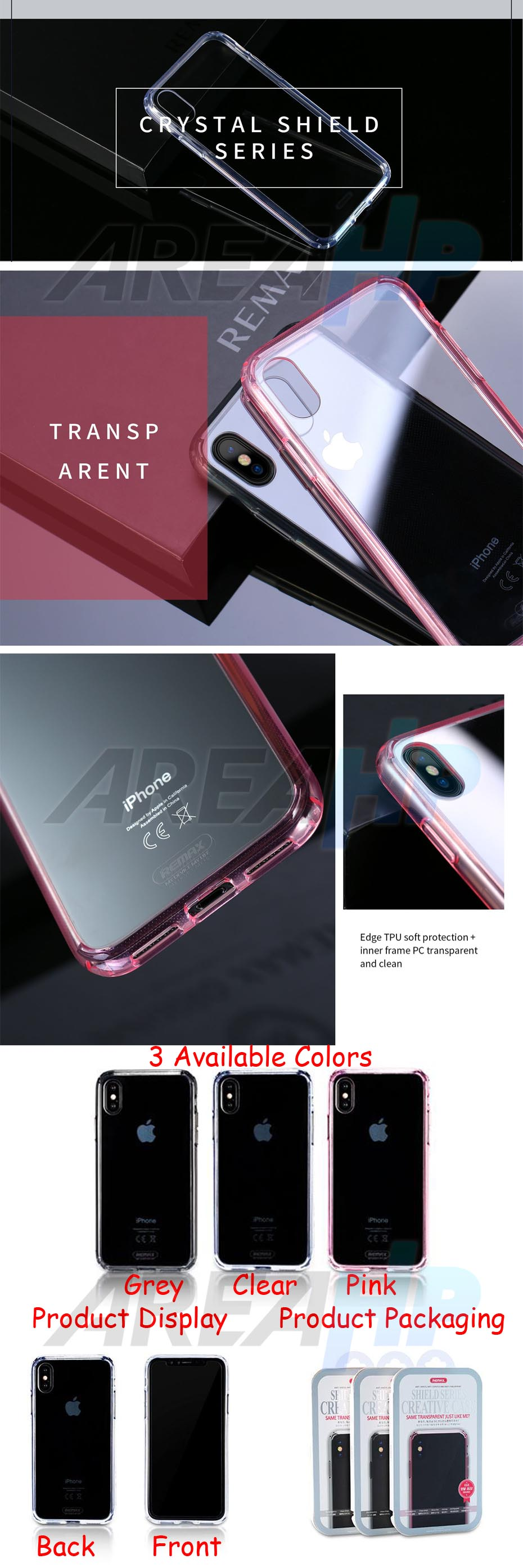 Remax Shield Series Creative Case iPhone X RM-1651 Overview