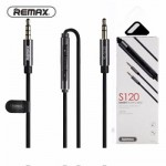 Remax Smart 3.5mm Audio Aux Male to Male Jack Cable with Mic 1.2M S120