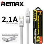 Remax Strive 2in1 Apple Lightning, Micro USB Cable 1M RC-042T