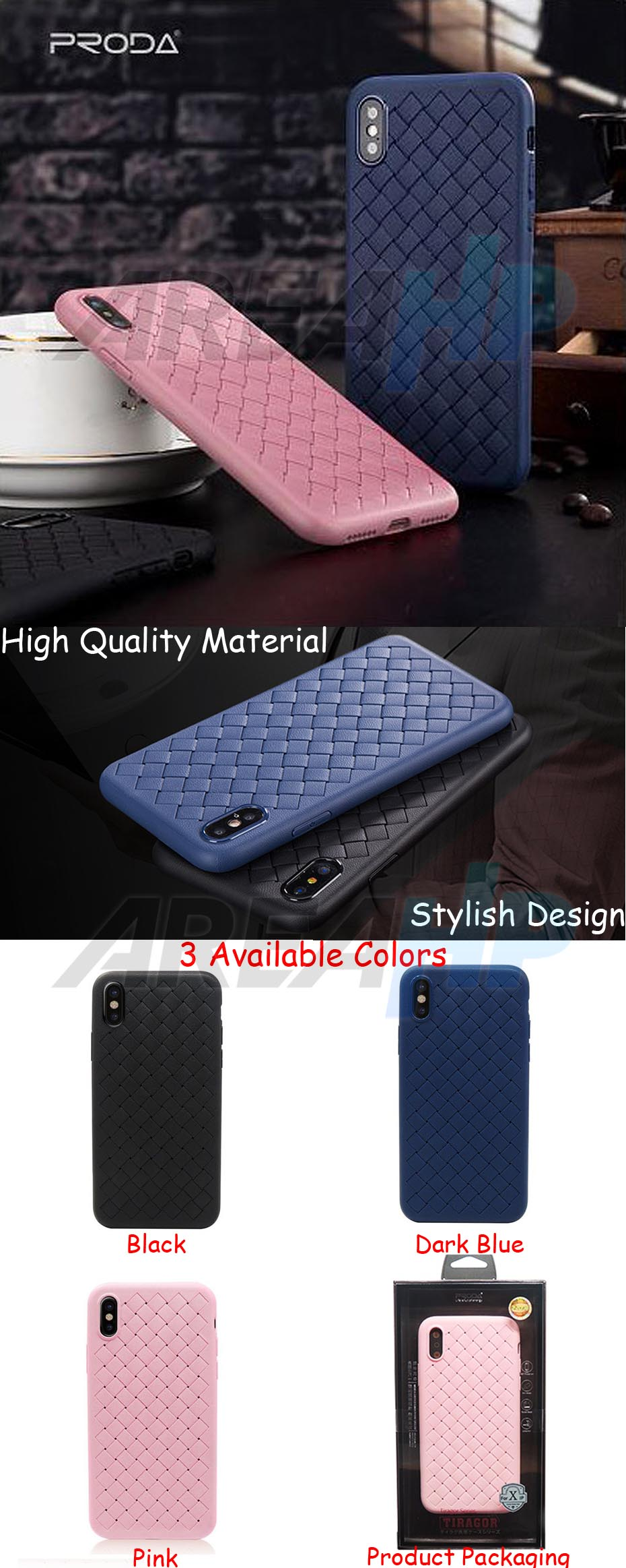 Remax Tiragor Series Case iPhone X Overview