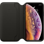 Leather Folio Case iPhone XS