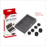 Dobe 24 Game Card Storage Box with Thumbstick Caps TNS-1844 Nintendo switch