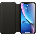 Leather Folio Case iPhone XR