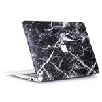 Marble Pattern Black White Case Macbook