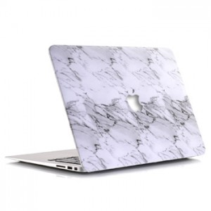 Marble Pattern White Grey Case Macbook