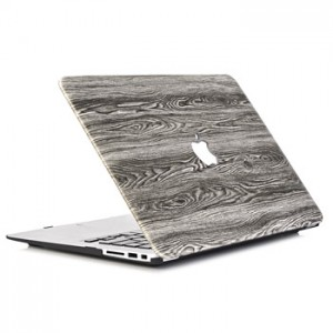 Wood Patern Case Macbook