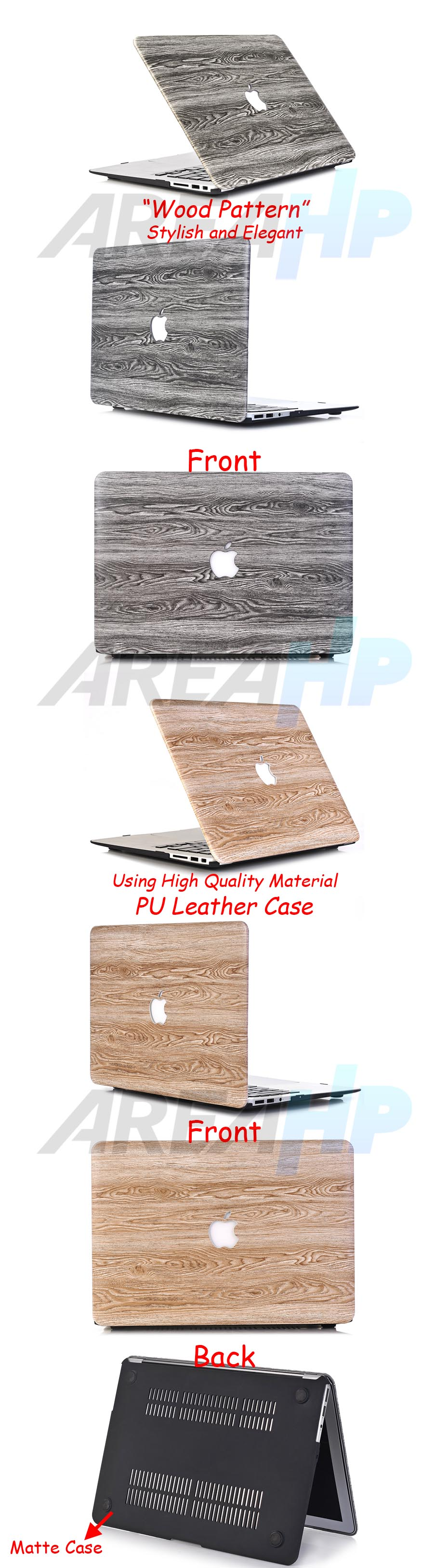 Wood Patern Case Macbook Overview