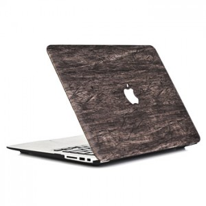 Wood Scratch Patern Case Macbook