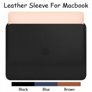 Apple Leather Sleeve Case Cover Pouch Macbook