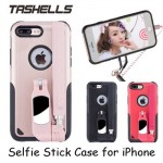 Tashells Built In Selfie Stick Case Bluetooth iPhone 8 Plus +