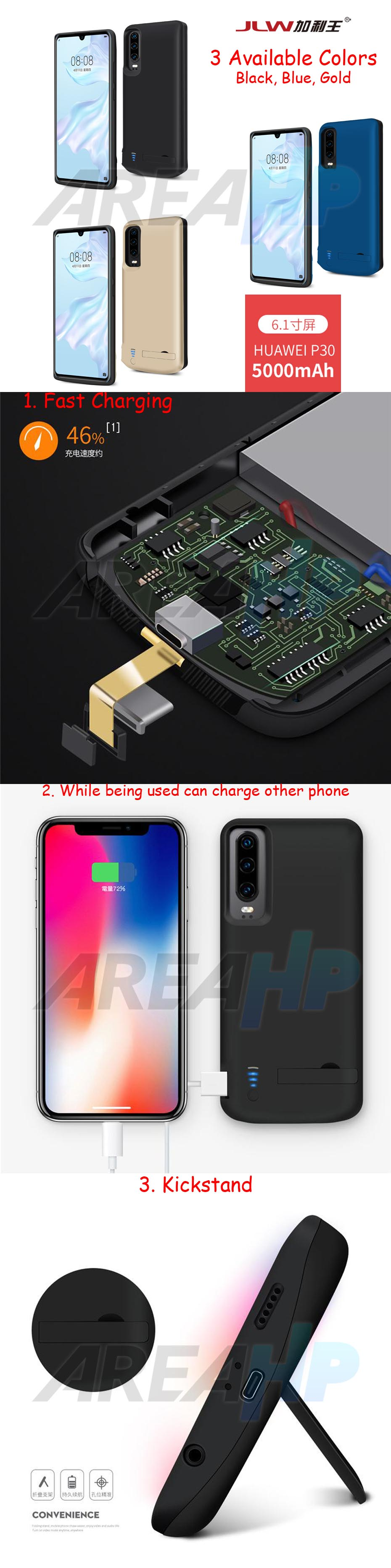 Power Case 5000mAh For Huawei P30 Overview