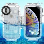 Diving Waterproof Protective Case 40 Meter Underwater IPX8 for iPhone XS Max