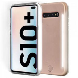 Lumee Selfie DUO LED Light Case for Samsung Galaxy S10 Plus +