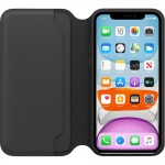 Leather Folio Case iPhone 11
