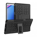 Car Tire Rugged Armor Case Kick Stand Samsung Tab A 8.0 2019 P205