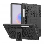 Car Tire Rugged Armor Case Kick Stand Samsung Tab S6 10.5 T860