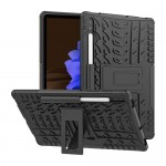 Car Tire Rugged Armor Case Kick Stand Samsung Tab S7 12.4 T975