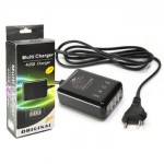 Universal Charger for All Phone, Tablet 4 Slot 1-2A