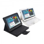 Removable Keyboard Leather Case for Samsung Galaxy Tab 10.1 P5100, P7500