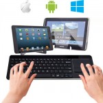 Universal Bluetooth Touchpad Keyboard for All Tablet IOS, Android, Windows