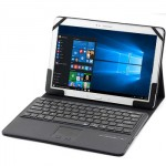 Universal Keyboard Bluetooth Touchpad Case for Tablet 11-12 Inch