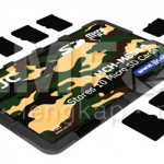 Memory Card Case Slim Camo for 10 Micro SD Card
