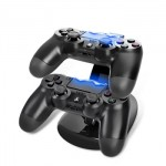 Oivo Dual Charging Dock Station for PS 4 Dualshock Gamepad Controllers IV-P4002