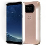 Lumee Selfie DUO LED Light Case for Samsung Galaxy S8 Plus +