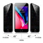 Explosion Proof Tempered Glass Film Anti Spy iPhone 8