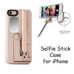 Tashells Built In Selfie Stick Case iPhone 6 Plus + 6S Plus +