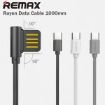 Remax Rayen Type C USB Fast Charging Data Cable 1M RC-075A