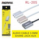 Remax Share 3.5mm Audio Aux Male to Female Jack Cable RL-20S