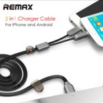 Remax Twins 2in1 Apple Lightning, Micro USB Cable 1M RC-025T
