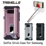 Tashells Built In Selfie Stick Case Bluetooth Samsung Note 8