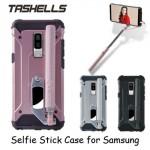 Tashells Built In Selfie Stick Case Bluetooth Samsung S9 Plus +