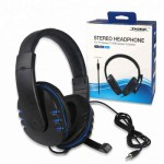 Dobe Gaming Stereo Headphone Wired with Mic TY-1731 for PS 4 Pro Slim