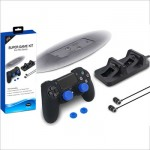 Dobe Super Game Kit Cable Case Charger Earphone Stand TP4-1751 PS 4 Pro Slim