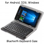 Universal Keyboard Bluetooth Case Tablet 7 8 Inch Android IOS Windows