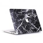 Marble Pattern Black White Case Macbook