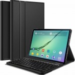 Slim Removable Keyboard Leather Case Samsung Tab S 2 8.0 T710