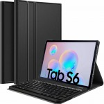 Slim Removable Keyboard Leather Case Samsung Tab S6 10.5 T860