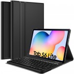 Slim Removable Keyboard Leather Case Samsung Tab S6 Lite 10.4 P615