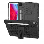 Car Tire Rugged Armor Case Kick Stand iPad Pro 12.9 Gen 1, 2