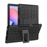 Car Tire Rugged Armor Case Kick Stand Samsung Tab S6 Lite 10.4 P615