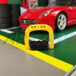 Diorama Diecast Parking Lock Barrier Scale 1 18
