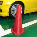 Diorama Diecast Traffic Cone Road Barrier Plastic Orange Scale 1 18