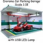 Diorama Ferrari