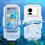Puluz Diving Waterproof Case 45M Huawei P50,Pro