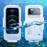 Puluz Diving Waterproof Case 45M iPhone 12,Mini,Pro,Max