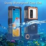 Shellbox Gen2 Diving Waterproof Case 15M Huawei P40,Pro,Plus +